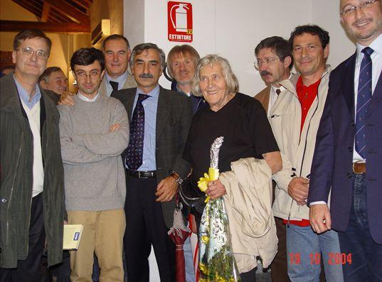 Margherita Hack, 19.10.2004