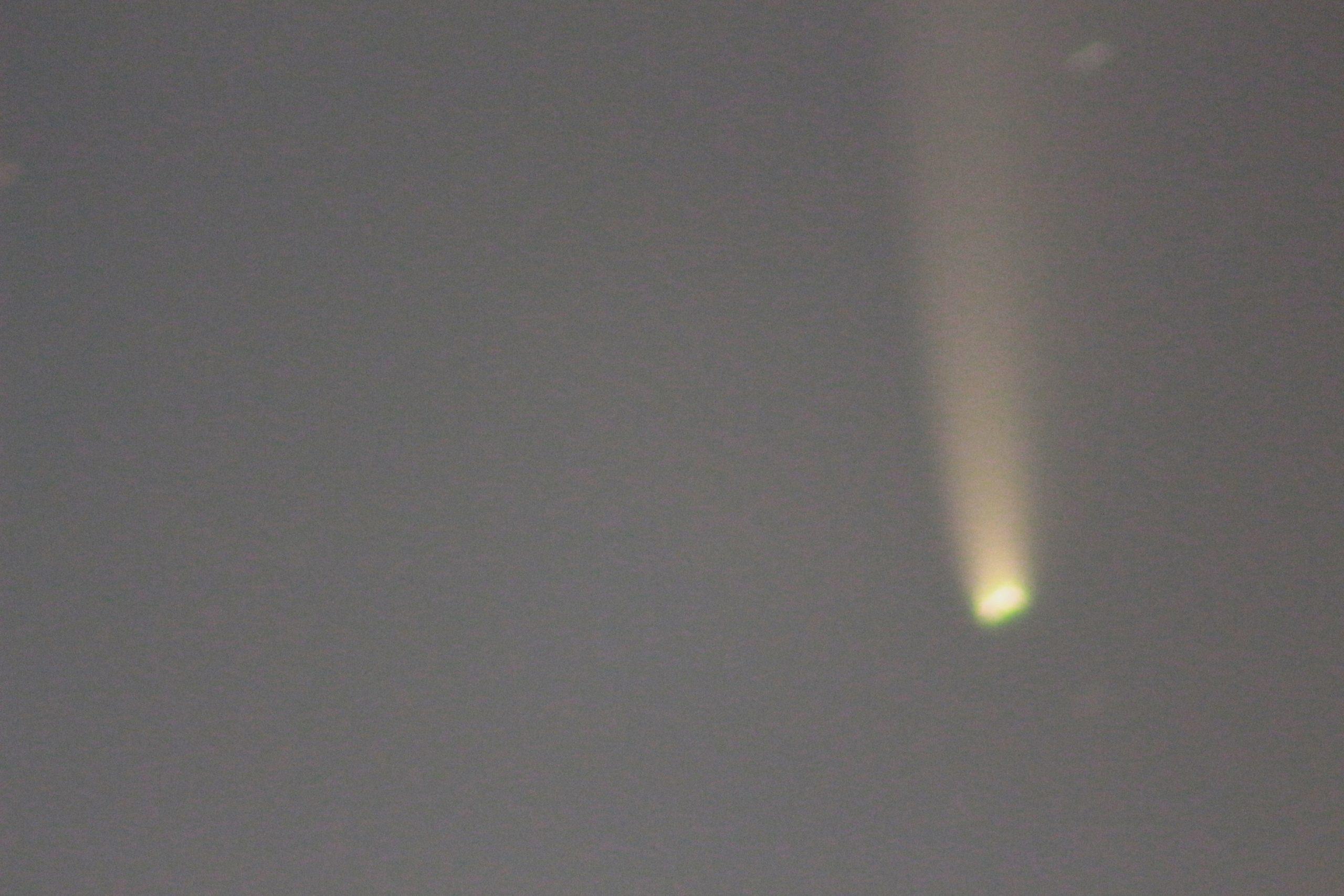 <p>Cometa Neowise<br /> 12/07/2020  ore 4;<br /> Lens Sigma 400x2/72;<br /> Canon 700D</p>