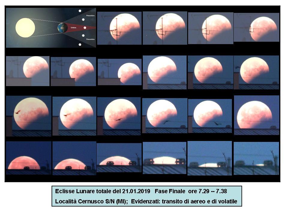 Eclisse Totale di Luna Fase Finale