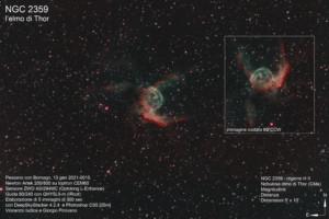 NGC 2359 – nebulosa elmo di Thor