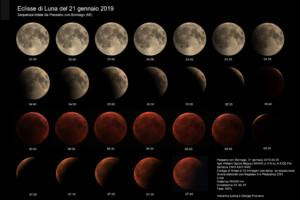 Eclisse di Luna del 21 gennaio 2019