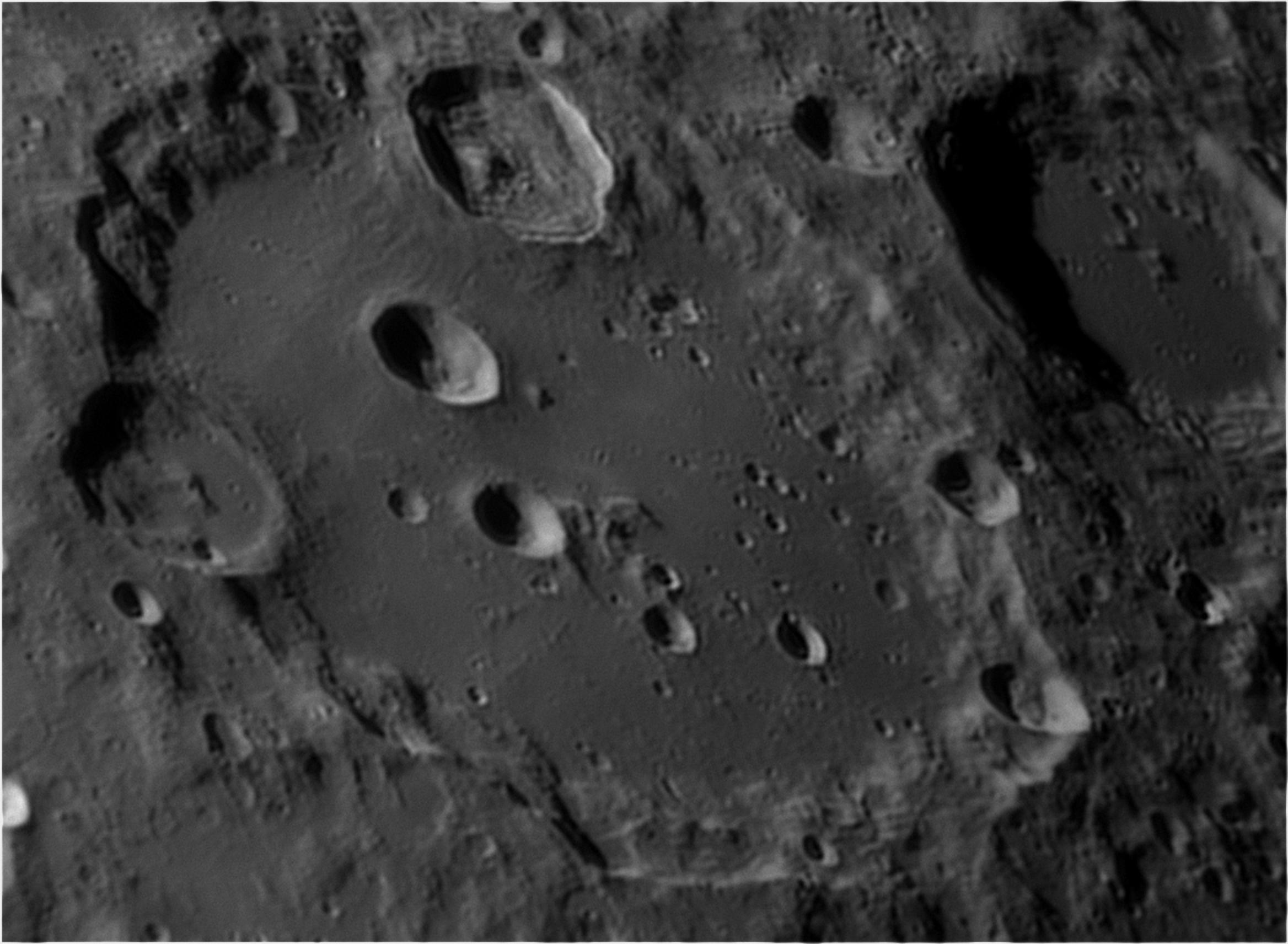 Zona circostante il cratere Clavius