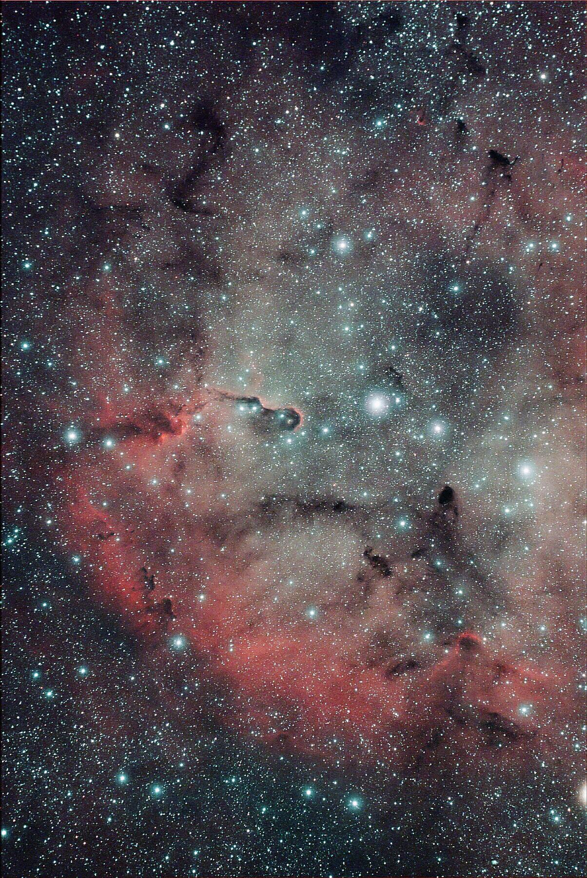Nebulosa IC 1396 nel Cefeo