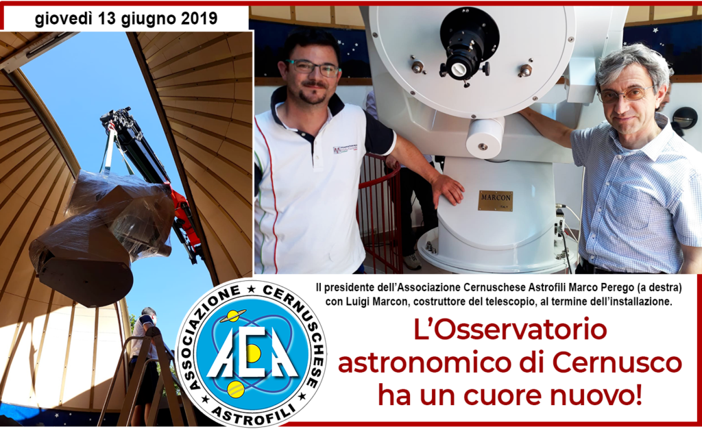 2019 06 13 Nuovo Telescopio ACA