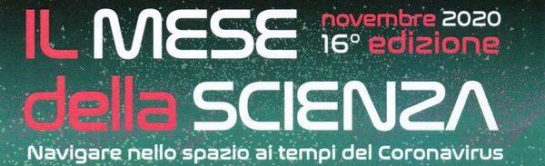 Locandina Mese della Scienza 2020